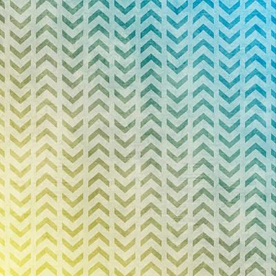 Pastel - Aztec Pattern 05 by Aloke Creative Store