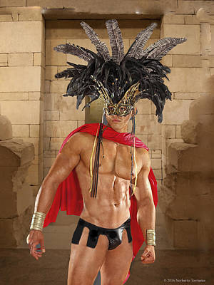 Aztec Prince 1181 Original by Norberto Torriente