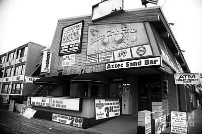 Seaside Heights Photograph - Aztec Sand Bar by John Rizzuto