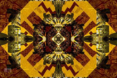 Digital Art - Aztec Temple by Jim Pavelle