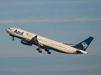Photograph - Azul Air by Dart Humeston