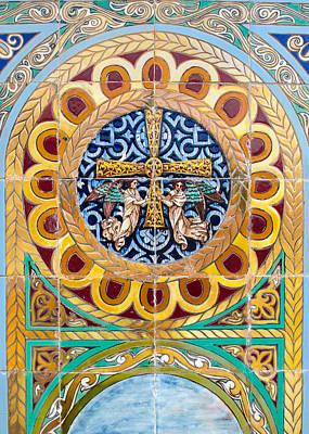 Photograph - Azulejo - Colorful Details by Andrea Mazzocchetti