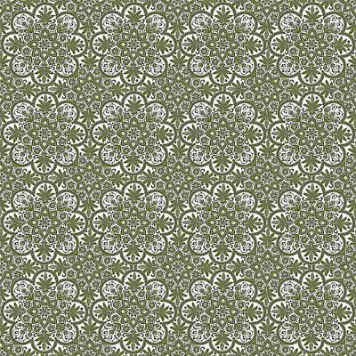 Photograph - Azulejo Floral Pattern - 33 by Andrea Mazzocchetti