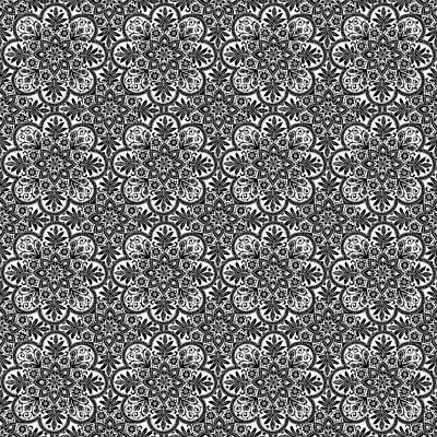 Photograph - Azulejo Floral Pattern - 36 by Andrea Mazzocchetti