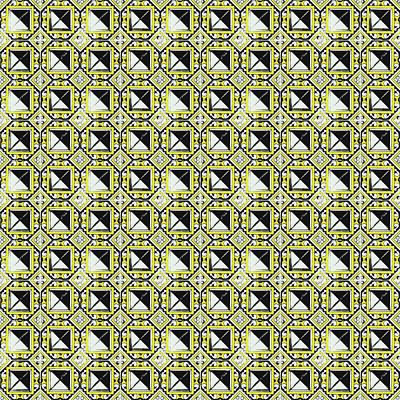 Photograph - Azulejo, Geometric Pattern - 05 by Andrea Mazzocchetti