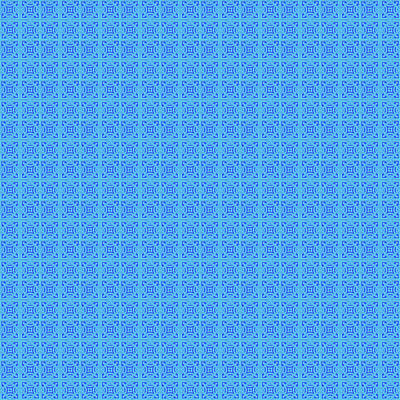 Digital Art - Azulejo, Geometric Pattern - 16 by Andrea Mazzocchetti