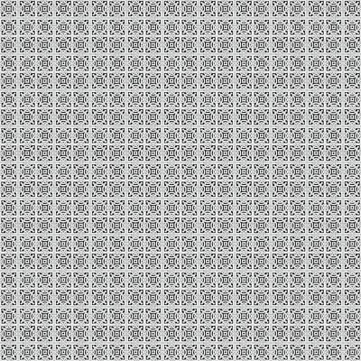 Digital Art - Azulejo, Geometric Pattern - 17 by Andrea Mazzocchetti