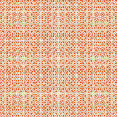 Digital Art - Azulejo, Geometric Pattern - 18 by Andrea Mazzocchetti