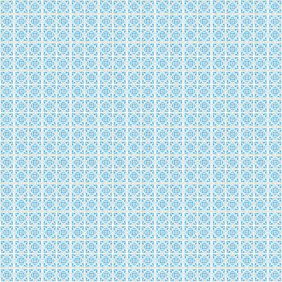 Mixed Media - Azulejo, Geometric Pattern - 19 by Andrea Mazzocchetti