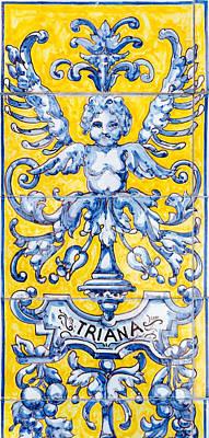 Photograph - Azulejos Decoration 2  by Andrea Mazzocchetti