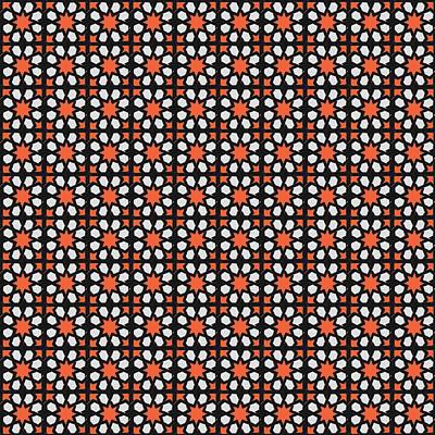 Mixed Media - Azulejos Magic Pattern - 04 by Andrea Mazzocchetti
