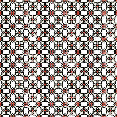 Mixed Media - Azulejos Magic Pattern - 06 by Andrea Mazzocchetti