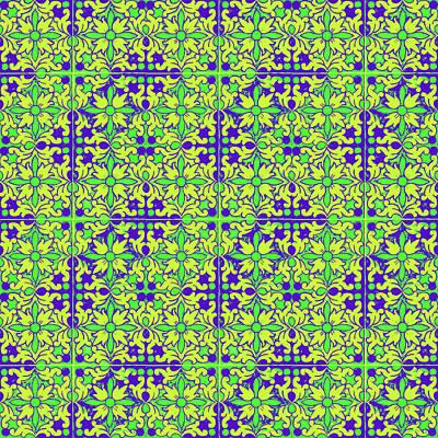Mixed Media - Azulejos Magic Pattern - 08 by Andrea Mazzocchetti