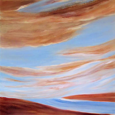 Painting - Azulite by Valerie Anne Kelly