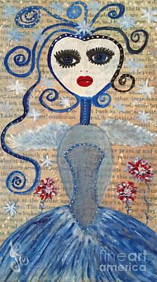Azura Art Print by Julie Engelhardt