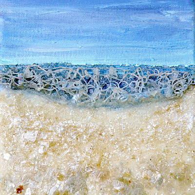 Painting - Azure Necklace by Regina Valluzzi