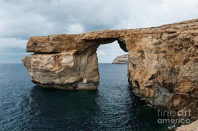 Halloween Movies - azure window on malta island Gozo by Compuinfoto