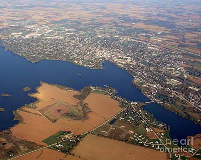 Photograph - B-013 Beaver Dam Wisconsin by Bill Lang