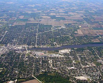 Photograph - B-019 Beloit Wisconsin by Bill Lang