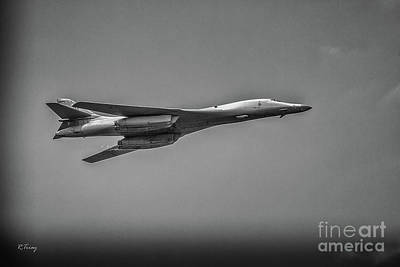 Photograph - Usaf Lancer B-1 Bomber by Rene Triay Photography