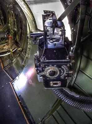 White Photograph - B-17 Aluminum Overcast  V9 by John Straton
