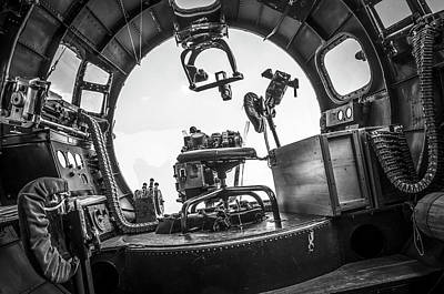 Photograph - B-17 Bombardier Office by Eric Miller