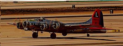 Art Print featuring the photograph B-17 Bomber by Dart Humeston