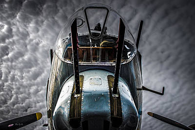 Photograph - B-17 Flying Fortress Nose Turret  by Bob Orsillo
