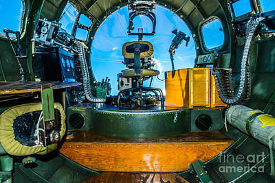 Photograph - B-17 Bombardier  by Nick Zelinsky