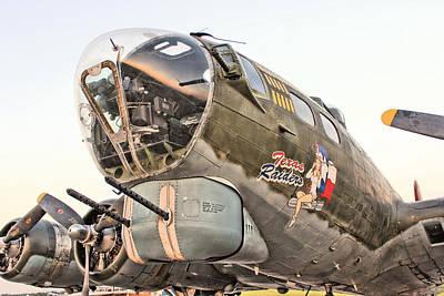 B-17 Texas Raiders Art Print by Michael Daniels