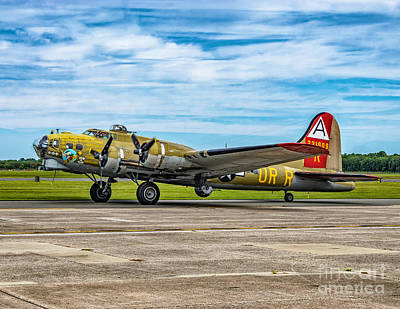 Photograph - B-17g Flying Fortress At Nas Wildwood by Nick Zelinsky