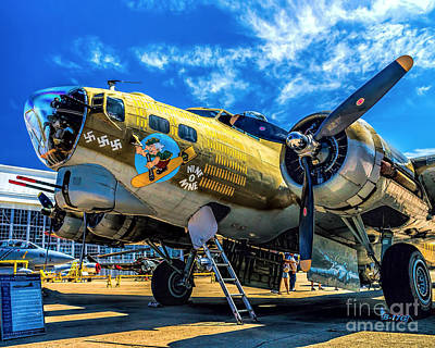 Photograph - B-17g Flying Fortress by Nick Zelinsky