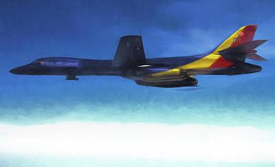 B-1b Southwest Airlines Art Print