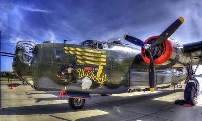 Photograph - B-24 by Joe  Palermo