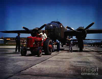 Painting - B-25 Bomber Planes by Celestial Images