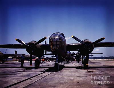 B-25 Bombers Art Print