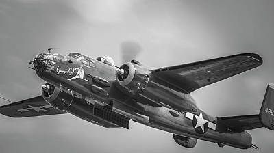 Photograph - B-25 by Eric Miller