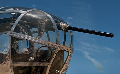 B-25 Mitchell - Bombardier's Station Art Print by Murray Bloom