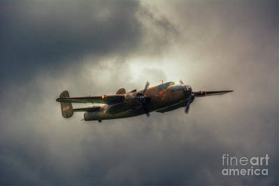 B-25 Mitchell Bomber Art Print by Nigel Bangert