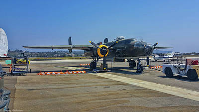 Photograph - B-25 Mitchell Executive Sweet by Tommy Anderson