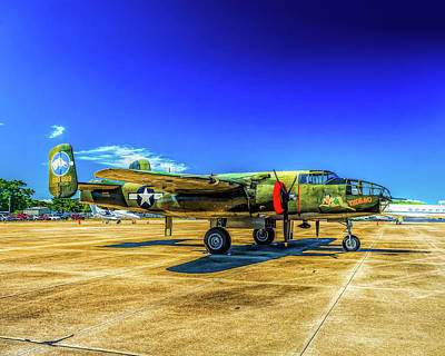 Photograph - B-25 Mitchell by Nick Zelinsky