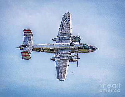 Photograph - B-25 Mitchell Panchito  by Nick Zelinsky