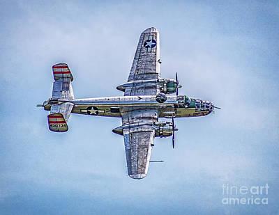 Photograph - B-25 Mitchell Panchito  by Nick Zelinsky