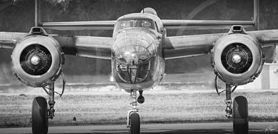 Photograph - B-25 Mitchell by Philip Rispin