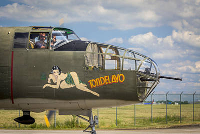 Photograph - B-25 Tondelayo by Jack R Perry