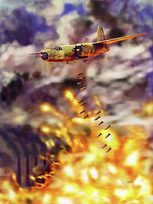 Painting - B-26 Sessanta Nova by Dave Luebbert
