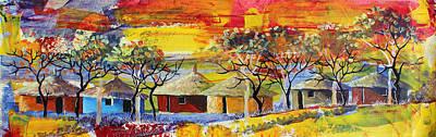 Painting - B 362 by Martin Bulinya