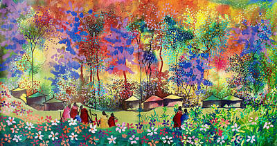 Painting - B-366 by Martin Bulinya