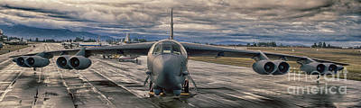 Art Print featuring the photograph B-52 by Jim  Hatch