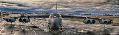 Photograph - B-52 by Jim  Hatch